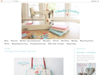 charisecreates.blogspot.com screenshot