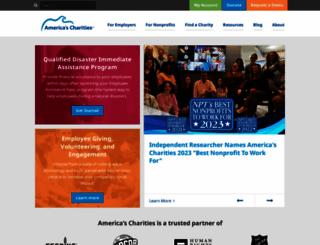 charities.org screenshot