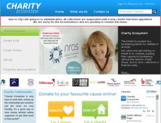 charity-eco-system.org screenshot