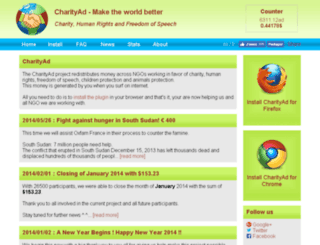 charityad.org screenshot