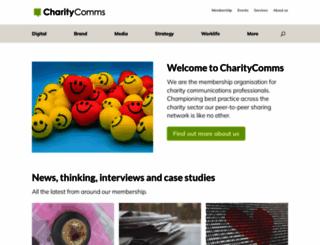 charitycomms.org.uk screenshot