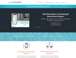 charitydynamics.com screenshot
