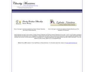 charityministries.org screenshot