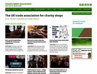 charityretail.org.uk screenshot