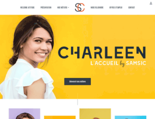 charleenhotesse.com screenshot