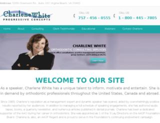 charlenewhite.presmultdemo.com screenshot