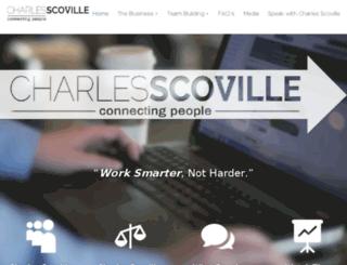 charlesscoville.net screenshot