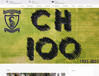 charlie.org.za screenshot