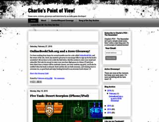 charliespov.blogspot.com screenshot