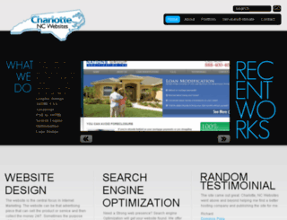 charlottencwebsites.com screenshot