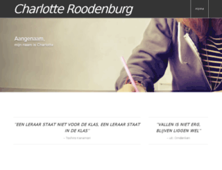 charlotteroodenburg.nl screenshot