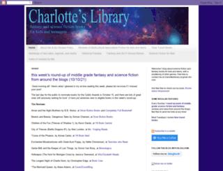 charlotteslibrary.blogspot.com screenshot