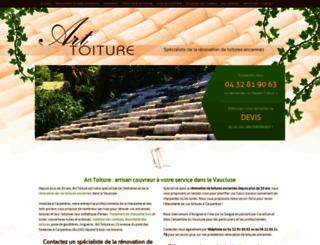 charpente-artbois.com screenshot
