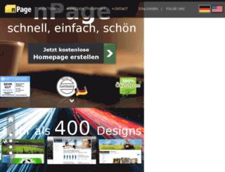 charterbusrental.hpage.co.in screenshot