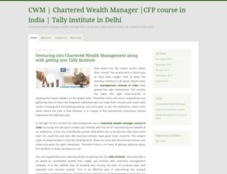 charteredwealthmanager.wordpress.com screenshot