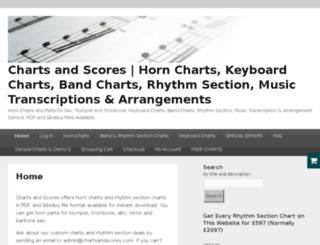 chartsandscores.com screenshot