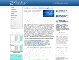 chartsmart.com screenshot