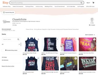 chaseinfinite.com screenshot