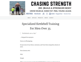 chasingstrength.com screenshot
