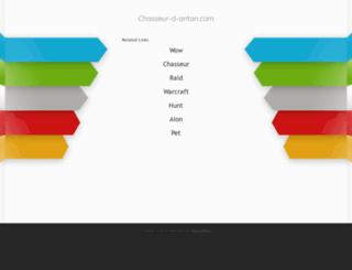 chasseur-d-antan.com screenshot
