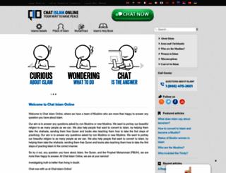 chatislamonline.org screenshot