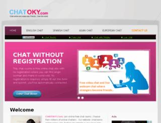 chatoky.com screenshot