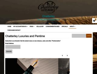 chatterleyluxuries.com screenshot