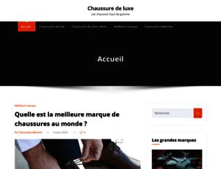 chaussure-de-luxe.com screenshot