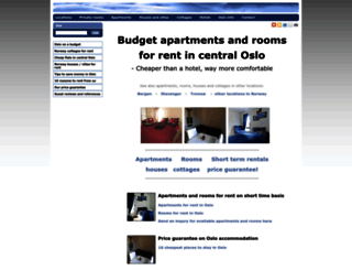 cheap-rooms-and-apartments-for-rent-in-oslo.fastweb.no screenshot