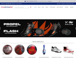 cheapbowlingballs.com screenshot