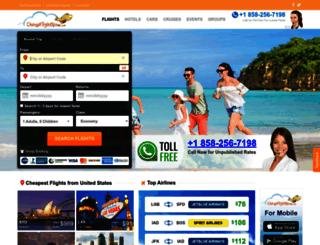 cheapflightnow.com screenshot