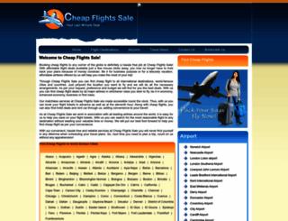 cheapflightssale.co.uk screenshot