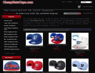 cheaphatscaps.com screenshot