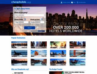 cheaphotels.org screenshot