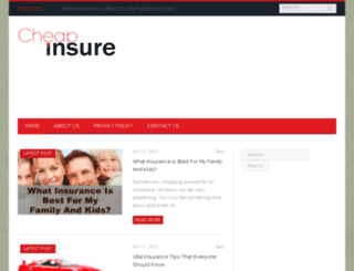 cheapinsure.biz screenshot