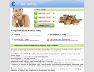 cheaponline-loans.co.uk screenshot
