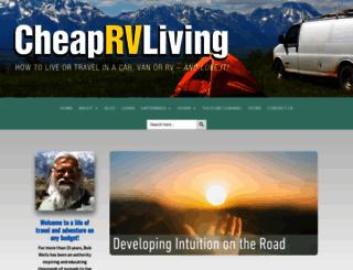 cheaprvliving.com screenshot