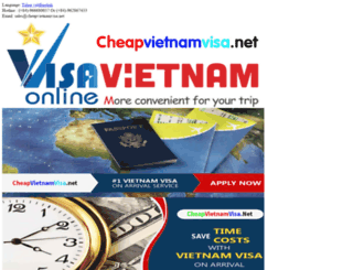 cheapvietnamvisa.net screenshot