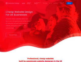 cheapwebdesign.org.uk screenshot