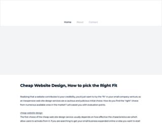 cheapwebsitedesign55.weebly.com screenshot