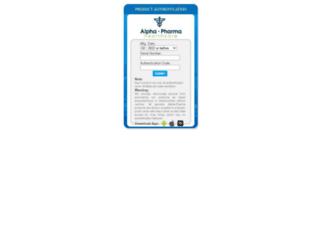 check-alpha.com screenshot