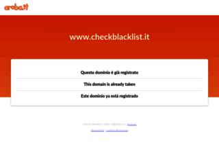 checkblacklist.it screenshot