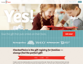 checkedtwice.com screenshot