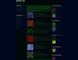 checkers.ws screenshot