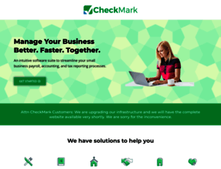 checkmark.com screenshot