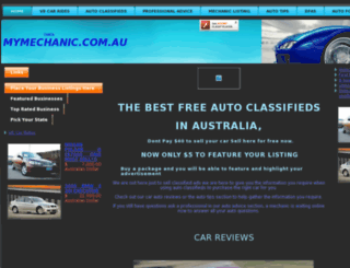 checkmymechanic.com.au screenshot