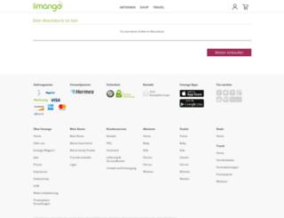 checkout.limango.de screenshot