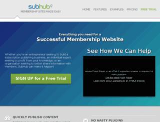 checks.subhub.com screenshot