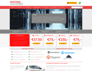 checkwebsitehosting.nl screenshot