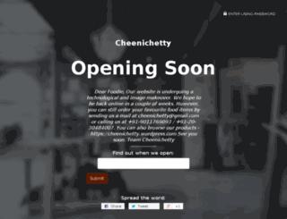 cheenichetty.com screenshot